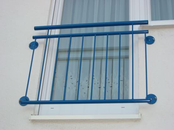 Französischer Balkon duplexbeschichtet